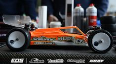 Burno Coelho's EOS series winning #XRAY XB4 at Red RC Chassis Focus