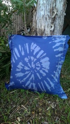 Hand tie dyed in beautiful QLD. Tie Dyed, Four Square, Throw Pillows, Beautiful, Cushions, Decor Pillows, Pillows, Decorative Pillows