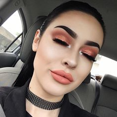 "11.2k Likes, 69 Comments - maddie carina (@maddiecarina) on Instagram: ""i just loved these colors together❣️ detailz: @anastasiabeverlyhills 'ebony' dip brow modern…"""
