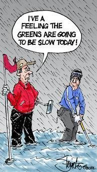 "ENJOY the GAME cahillgolf.com ""I've a feeling the greens are going to be slow today."" #ImportantGolfTips"