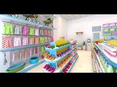 Thiết kế cung cấp giá kệ kính trưng bày mỹ phẩm, nước hoa, son môi