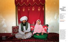 "Take a close look at this photo: it is not a picture of a father and daughter, but of a husband and wife in the Middle East, where child marriage is one of few options available to uneducated girls. Pakistan: Council of Islamic Ideology says laws prohibiting child marriage are un-Islamic ""Islam does not forbid marriage of young children,"" the council said. ""However, the consummation of marriage is only allowed when both husband and wife have reached puberty."""