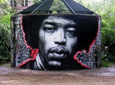 MTO - Street Art - Ritratti in scala di grigio