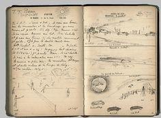 Jacques Henri Lartigue's handwritten diary  Journal, mardi 30 juin 1914 (dimensions: 10,5x16,5cm)