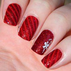 christmas by bettinanails #nail #nails #nailart