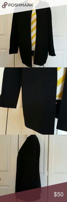 Bill Blass New York black wool  jacket blazer In great condition Size XS but can fit size small Bill Blass Jackets & Coats Blazers