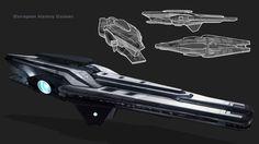 ArtStation - Europan Heavy Cruiser, Garret AJ