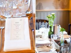 Jenny Packham Glamour for a Cosy Winter Pub Wedding