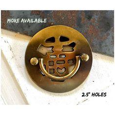 Drawer PULL Vintage Keeler Brass SOLID Oriental Furniture