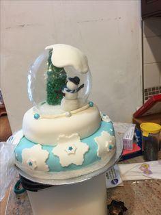 Snow Globes, Cake, Desserts, Food, Decor, Tailgate Desserts, Deserts, Decoration, Kuchen