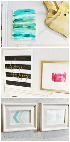 DIY Modern Gallery Wall + Free Printables