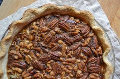 Maple Walnut Pecan Pie