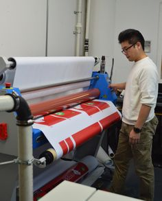 Jay Printing Outdoor Banners in our Large Format Division