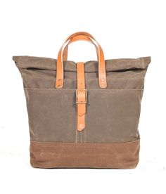 Someday I will have this bag: Rolltop Tote  by Bexar Goods