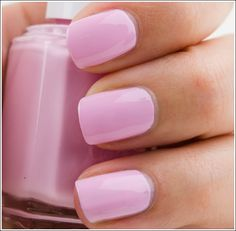Essie French Affair Nail Lacquer. what a perfect color for spring (I'm old school) #manicure