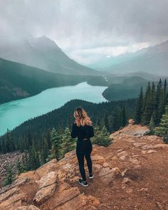 Peyto Lake, Banff National Park, Banff, Calgary, Alberta, Canada, Canada 150  |  Travel & Style, Outdoors, Adventure, Hiking. Instagram Photograph by @finding.jules