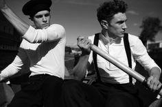 "British Models Chris Doe & Gavin Jones in ""Seafarers"" by Thomas Schmidt for Fashionisto Exclusive - December 2012"