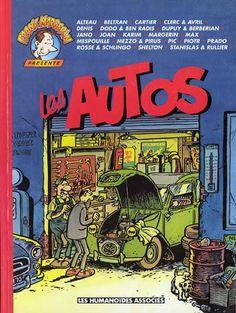 Couverture de Frank Margerin présente -5- Les autos