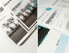 brochure-like the idea of black, gray and one other color