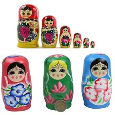 Russian Nesting Matryoshka Dolls Toy Decoration souvenir and toy of Russia Doll Toys, Dolls, Matryoshka Doll, Kids Gifts, Russia, Decoration, Ebay, Souvenir, Baby Dolls