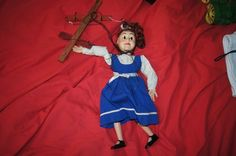 VINTAGE HAZELLES POPULAR MARIONETTE no box sold as is.  Purchased October 13, 2016, online auction for $13.95 + $5.95 s&h.  Arrived 10/17/16.  I finally get to check 311-Dotty off my WANTED LIST.