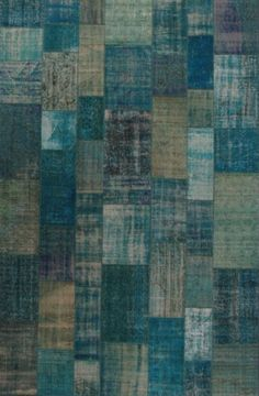 This is one of our blue patchwork of our Organica collection ! Want to see more ?  http://www.lawrenceoflabrea.com/organica-9x14/