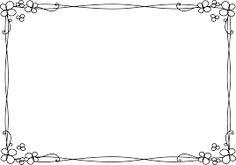 「手書き フレーム フリー素材」の画像検索結果
