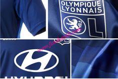 Lyon Adidas Away Fussball Trikot 2014 2015