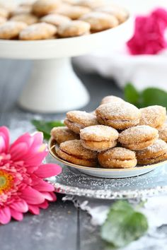 My Favorite Food, Favorite Recipes, My Favorite Things, Cookie Jars, Doughnut, Food Inspiration, Almond, Bakery, Food And Drink