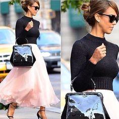 top jessica alba celebrity skirt
