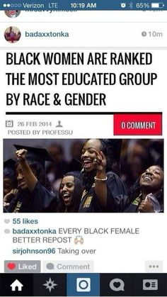 Black excellence by blackizfleek Black Power, Black Girls Rock, Black Girl Magic, By Any Means Necessary, Black History Facts, Women's History, We Are The World, Black Pride, To Infinity And Beyond