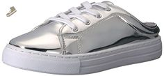 Qupid Women's Reba-82c Fashion Sneaker, Silver, 6 M US - Qupid sneakers for women (*Amazon Partner-Link)