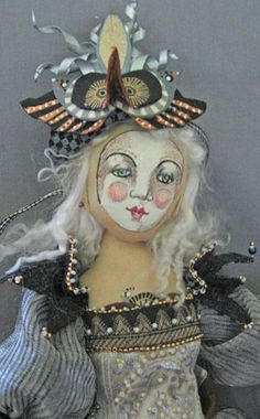 Christine Shively-Benamin.  Sculpted Fabric Dolls.    http://www.odaca.org/bios/shively.php