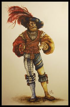 Landsknecht 16th century by Rejdie on DeviantArt