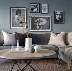 Living room inspiration | Cooee Ball vases available at www.istome.co.uk