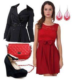 Look du jour !  La robe 21€99, http://ick.li/RqUeeQ La veste 39€99, http://ick.li/1NSqA8 Les compensées 22€99, http://ick.li/jPAsk7 Le sac bandoulière 15€99, http://ick.li/Dk7Huu Les boucles d'oreille 1€99, http://ick.li/ukgd6e  #mode #fashion #misscoquines #tendance #trend #style #tenue