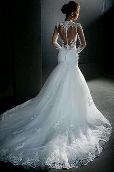 Wonderful Perfect Wedding Dress For The Bride Ideas. Ineffable Perfect Wedding Dress For The Bride Ideas. Dream Wedding Dresses, Stunning Wedding Dresses, Bridal Dresses, Wedding Gowns, Lace Wedding, Bridesmaid Dresses, Prom Dresses, Evening Dresses, Dresses 2016