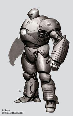 Iron Monger concept art