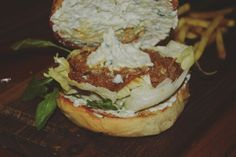 Check out the Tzatziki on the Lamb and Cumin burger at The Burger Festival in Ci Gusta, Hyderabad