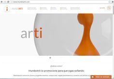 #FelizMartes Hoy es un gran día  Ya tenéis disponible nuestra web, sigue a www.mundoarti.com para conocernos.