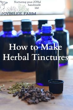 Making herbal tinctures is one of the easiest ways to preserve the potency of your herbal harvest.  Tinctures made with alcohol and dried herbs have a long shelf life.  They can last for decades without a decrease in potency, provided they are protected from light and heat.   Tinctures are easy for a beginner to make, yet they are the stand by herbal remedy for professional herbalists.
