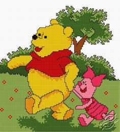 Walk - Free Cross Stitch Pattern