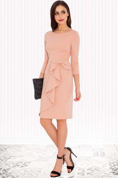pastel chique jurk