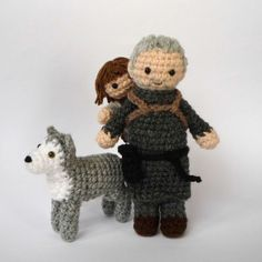 Adorable Crocheted Game of Thrones Characters by... | Game of Thrones Fan Art