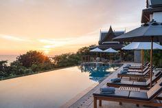 Villa Aye gives you panoramic views of the Andaman Sea turquoise waters metres below.