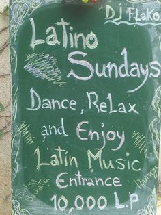 *** #LATINO SUNDAYS at #BlueWaves *** ***** FREE #SALSA #LESSONS ***** Come and enjoy the sunset meet new people, new friends #Dance,#Relax and have #FUN every sundays with —- #Latin Tunes ——. Dj -**#FLAKO** (#Salsa-#Bachata -#Merengue- #Kizomba -#LatinBeats-#Boleros – and more ) In the beautiful city of #Jounieh Old Road, Lesson; 8:30 to 9;:30 pm  free class (Real #Man wanted )( ja-ja ja 2many #ladies ) entrance 10,000 LP  see more: http://goo.gl/tTfRQR