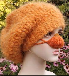#HalloweenNoseWarmer, #OrangePumpkin, #NoseHat, #KnittedFaceCover, #FallGift, #ForAutumnLovers, #Florfanka Etsy Handmade, Handmade Art, Thanksgiving Decorations, Halloween Decorations, Doll Toys, Dolls, Nose Warmer, Fall Gifts, Dog Halloween Costumes