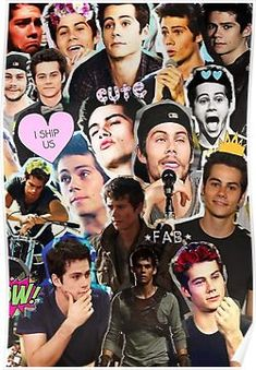 'Dylan O'Brien Collage' iPhone Case by luxvida Teen Wolf Mtv, Teen Wolf Boys, Teen Wolf Dylan, Teen Wolf Stiles, Sprouse Bros, Cole Sprouse, Maze Runner, Dylan O'brien Hot, Dylan O Brain