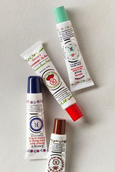 Smith's Rosebud Salve Tube - Mocha Rose, Original, Brambleberry & Strawberry  Lip Balm Tube. Buy at Anthropologie and Urban Outfitters