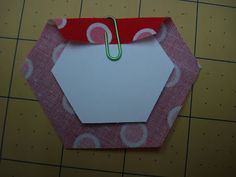 Okay peeps...this is a continuation of my last post where I showed you how I cut out my hexagons.  Now I'll show you how I stitch them arou...